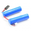 FTX SURGE Akku Li-Ion 7,4V, 1500mAh ''Saddle-Pack'' ca. 19x70mm (2x) & 96g, Balancer JST-XH Stecker